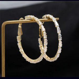 Baguette Diamond (Gold