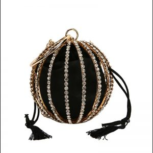 The Carriage Purse Black