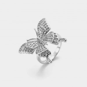 Butterfly Ring (Silver)