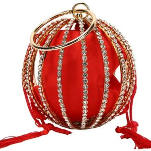 The Carriage Purse Red