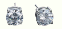 Round White Diamonds