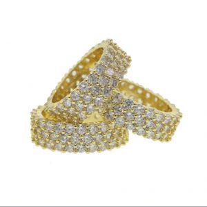Trinity Ring Set Gold