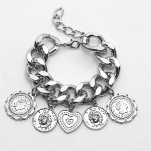 Heart of Coins (Silver)