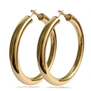 Solid Hoops (Gold)