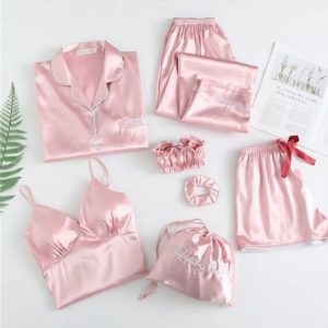 7 Piece Mix & Match Playwear Pajama Set